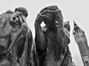 Auguste Rodin Občané z Calais_EugenKukla