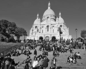 Den poté. Paralyzovaná Paříž. The Day After. Paralysed Paris. 15.XI.2015, foto: Eugen Kukla