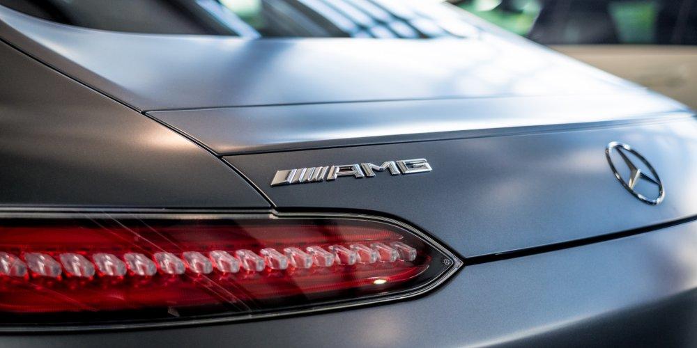 Mercedes GT S AMG  Kārlis Dambrāns
