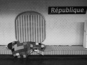 Paříž - metro 10.XI.2015, foto: Eugen Kukla