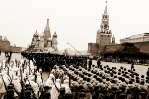 Red Square in Moscow, November 7, 2009_Peter Bolkhovitinov