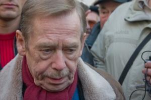 What has Vaclav Havel on mind, foto: Vaclav Mrkvicka