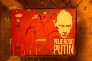 Peligroso Putin, foto: noaz.