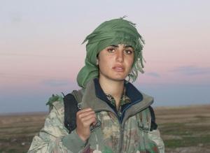 Kurdish YPG Fighter, foto: Kurdishstruggle