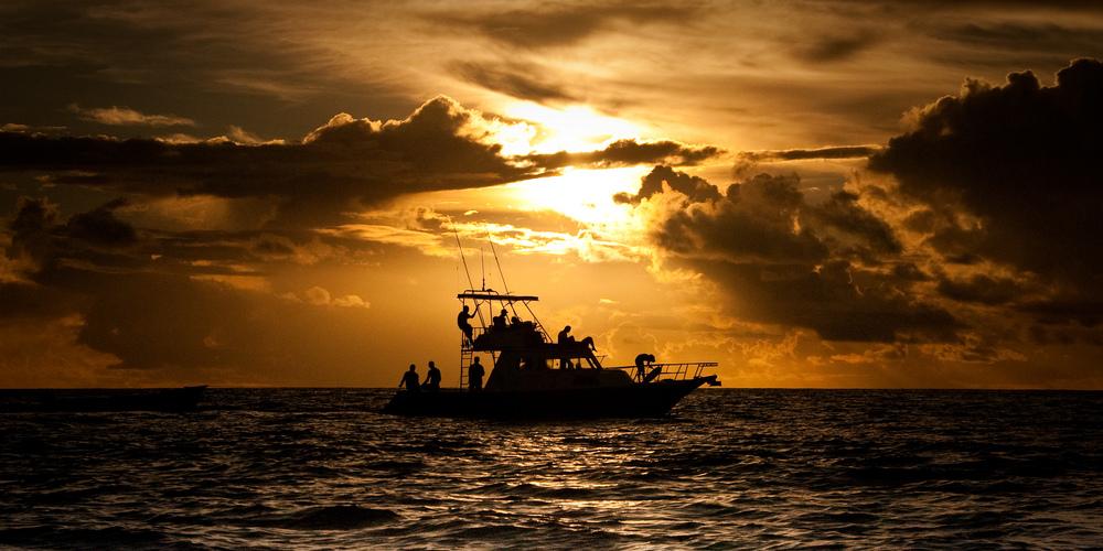 Seychelles Praslin Boat Didier Baertshiger cr