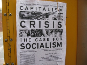 The case for socialism, foto: Shira Golding Evergreen