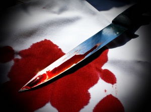 Murder's weapon on the table, autor: Maarten Van Damme