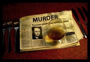 Putin is dead, foto: Andrej Kuznetsov