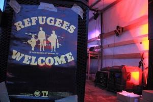 Refugees Welcome means Equal Rights for all - Demonstration Hamburg 14.11.2015, foto: Rasande Tyskar