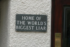World's Biggest Liar, foto: Alan Cleaver