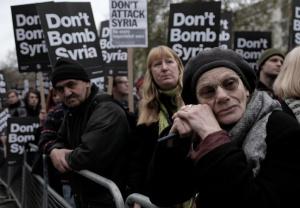 Anti-war protest in London, foto: Alistar Hickson