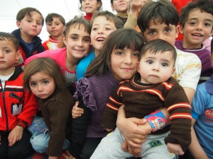 Children of Zaatari camp, foto: Oxfam international