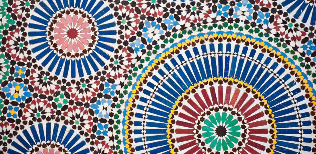 Islamic mosaic pattern Jorg Reuter cr