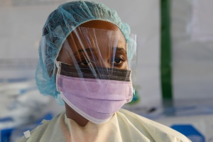 Siah Tamba, Ebola survivor and Ebola hero, foto: Unmeer