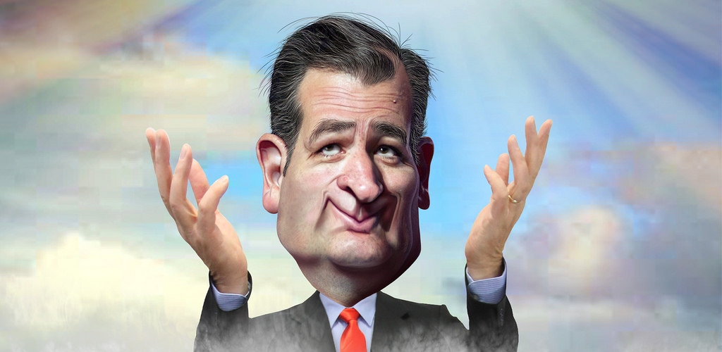 Ted Cruzs Caricature Donkey Hotey cr