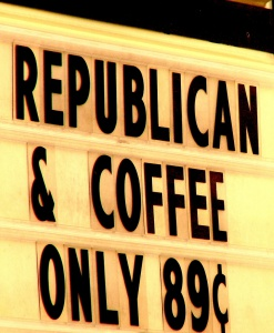 Republican Invisible Coffee, foto: Lew Holzman