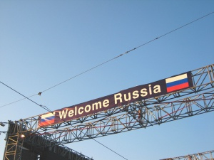 Welcome Russia, foto: Andreas Hunziker