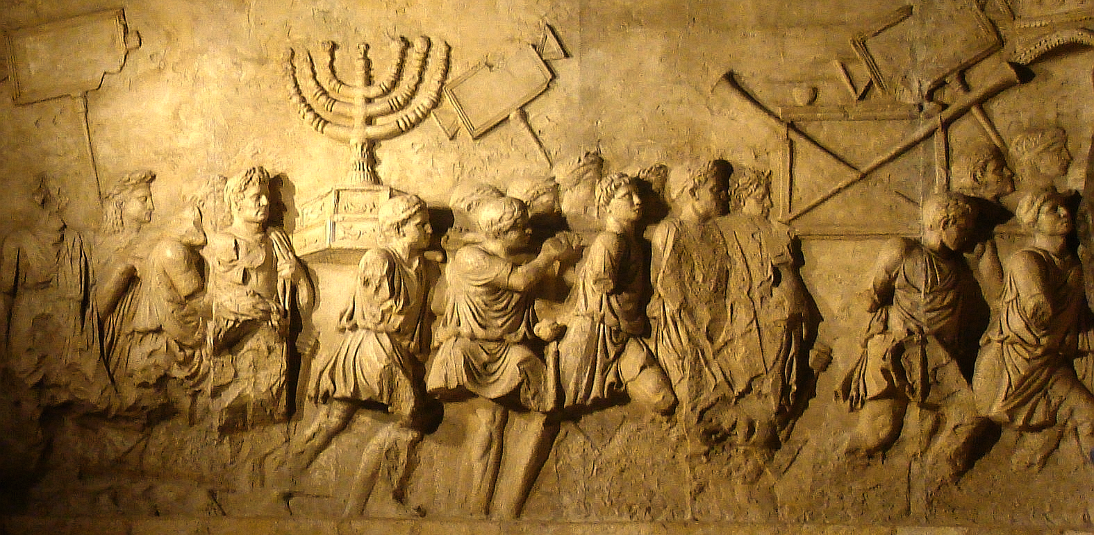 Arch of Titus Menorah 1 e1463926607616