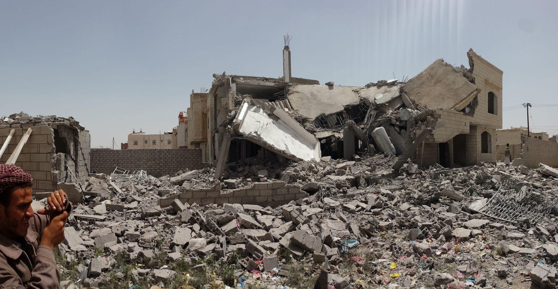 Jemen, intervence Saudské Arábie /Ibrahem Qasim via Wikimedia Comonns