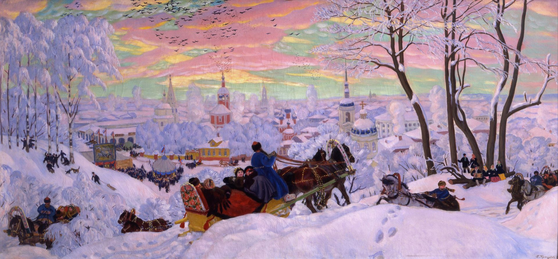 Boris Kustodiev   Shrovetide   Google Art Project 1 e1465660179192