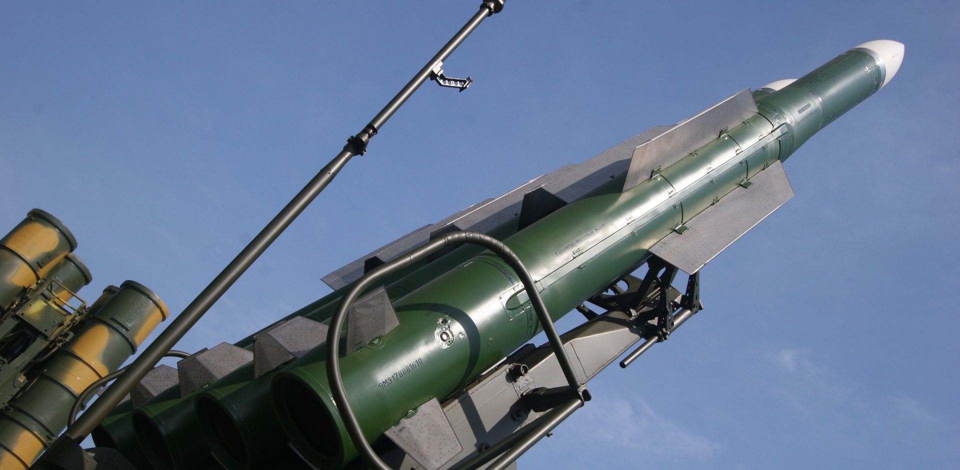 9M317 surface to air missile of Buk M2E e1468657419574