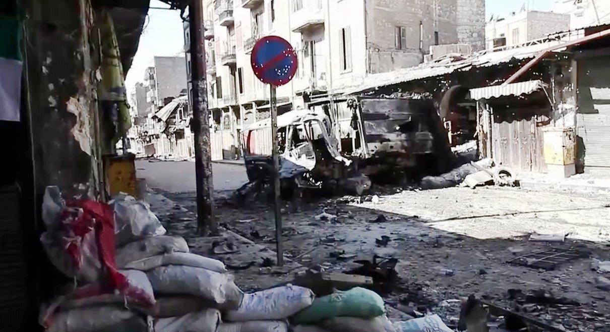 Aleppo Voice of America News Scott Bobb reports from Aleppo