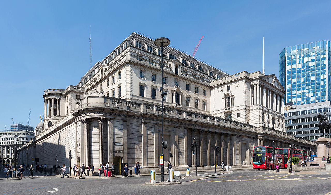 Bank of England Building London UK by Diliff
