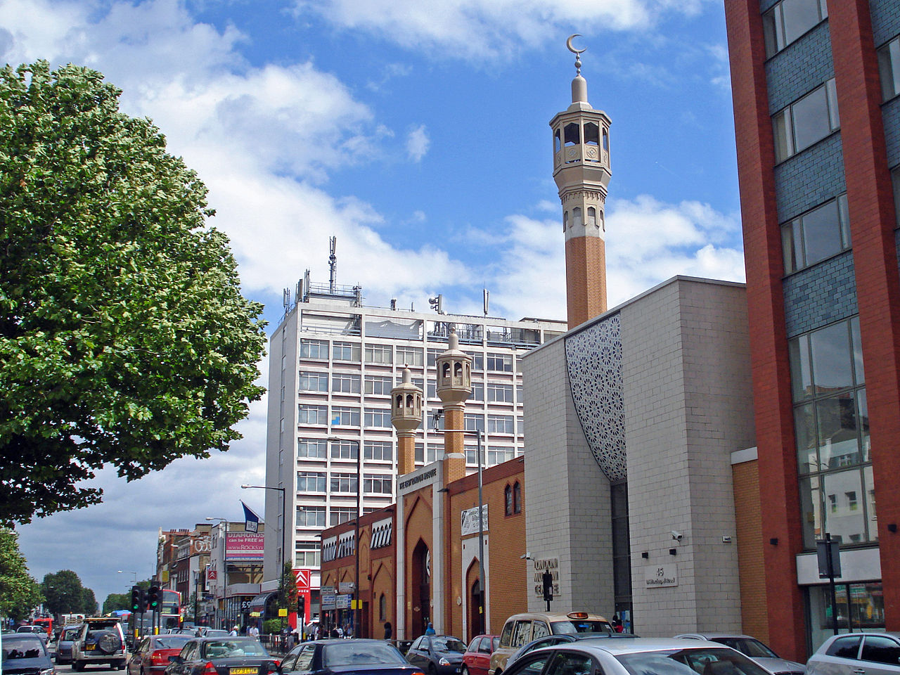 East London Mosque by dg