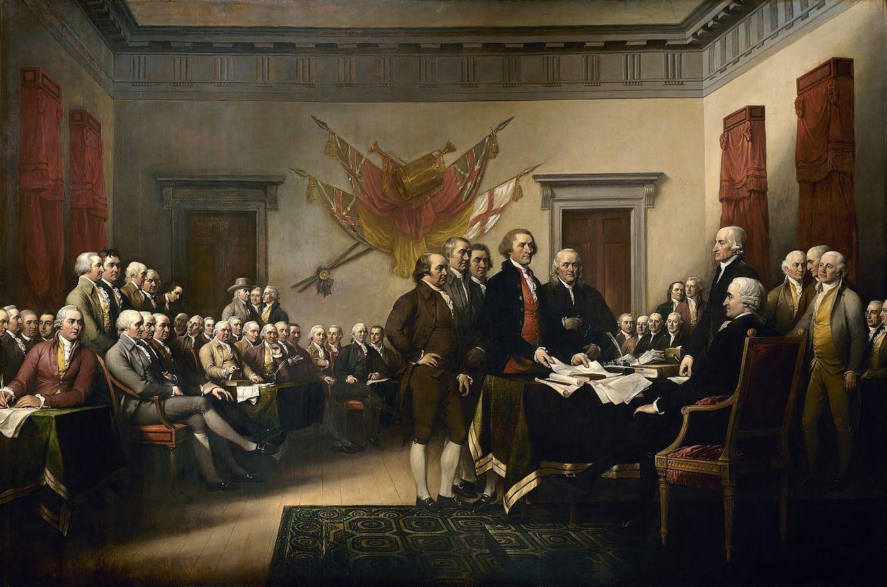 GOP Declaration independence