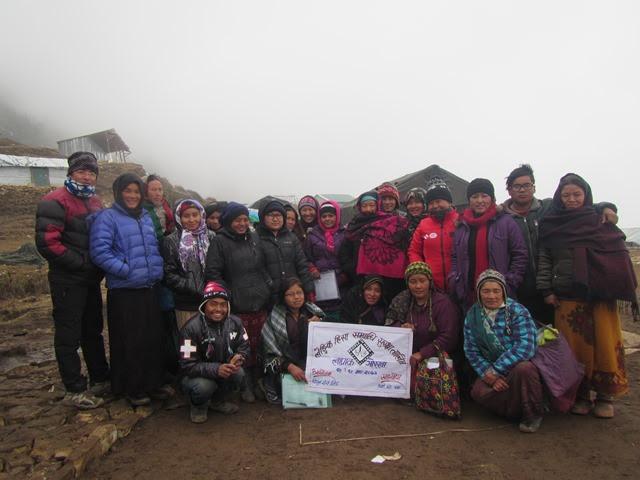 Vijaya Pun, koordinátorka programu na ochranu žen a dětí ČvT v Nepálu
