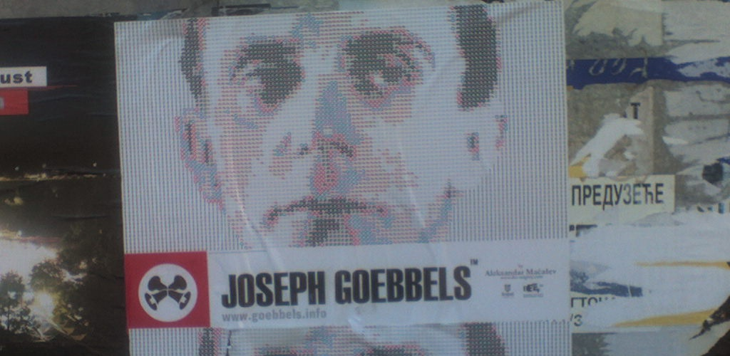 J.Davis Goebbels in Belgrade cr