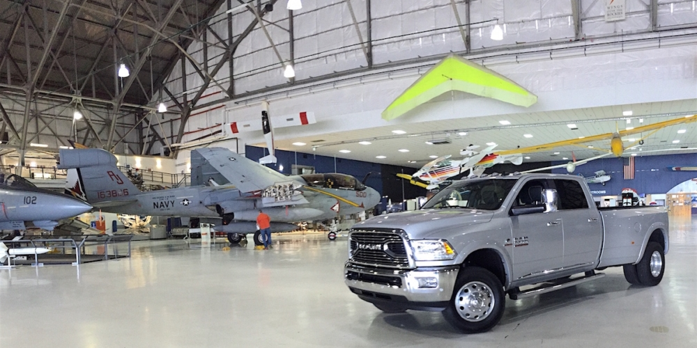 2016 ram hd 3500 towing military jet