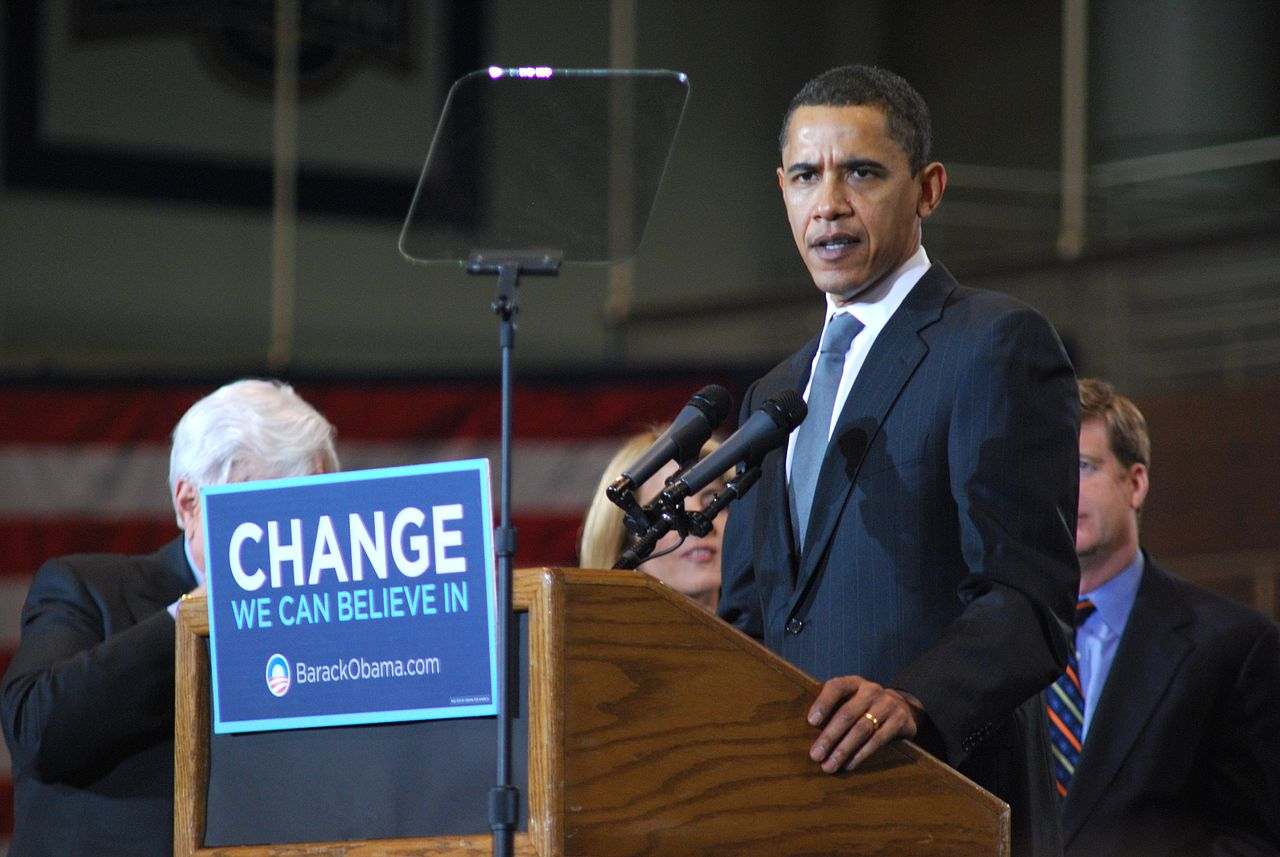 Barack Obama at American University Will White