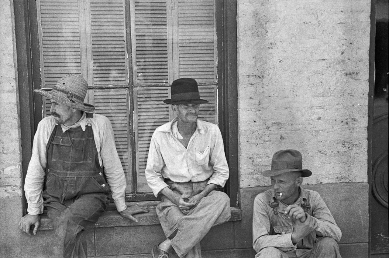 Frank Tengle Bud Fields and Floyd Burroughs Walker Evans