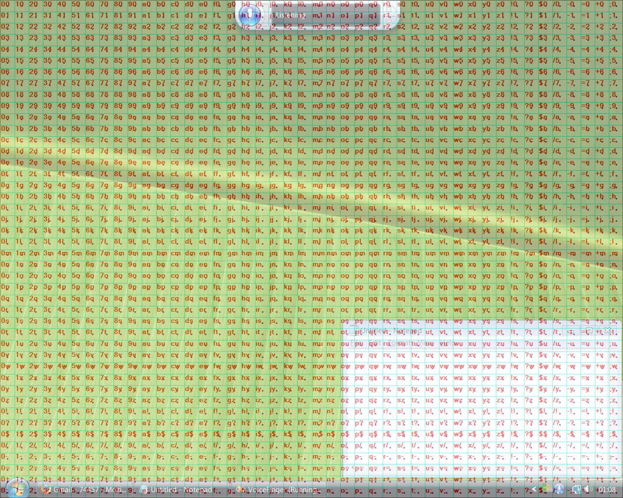 Voice Finger Screenshot photo Hexacorde