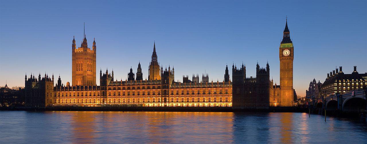 Westminsterský palác Diliff