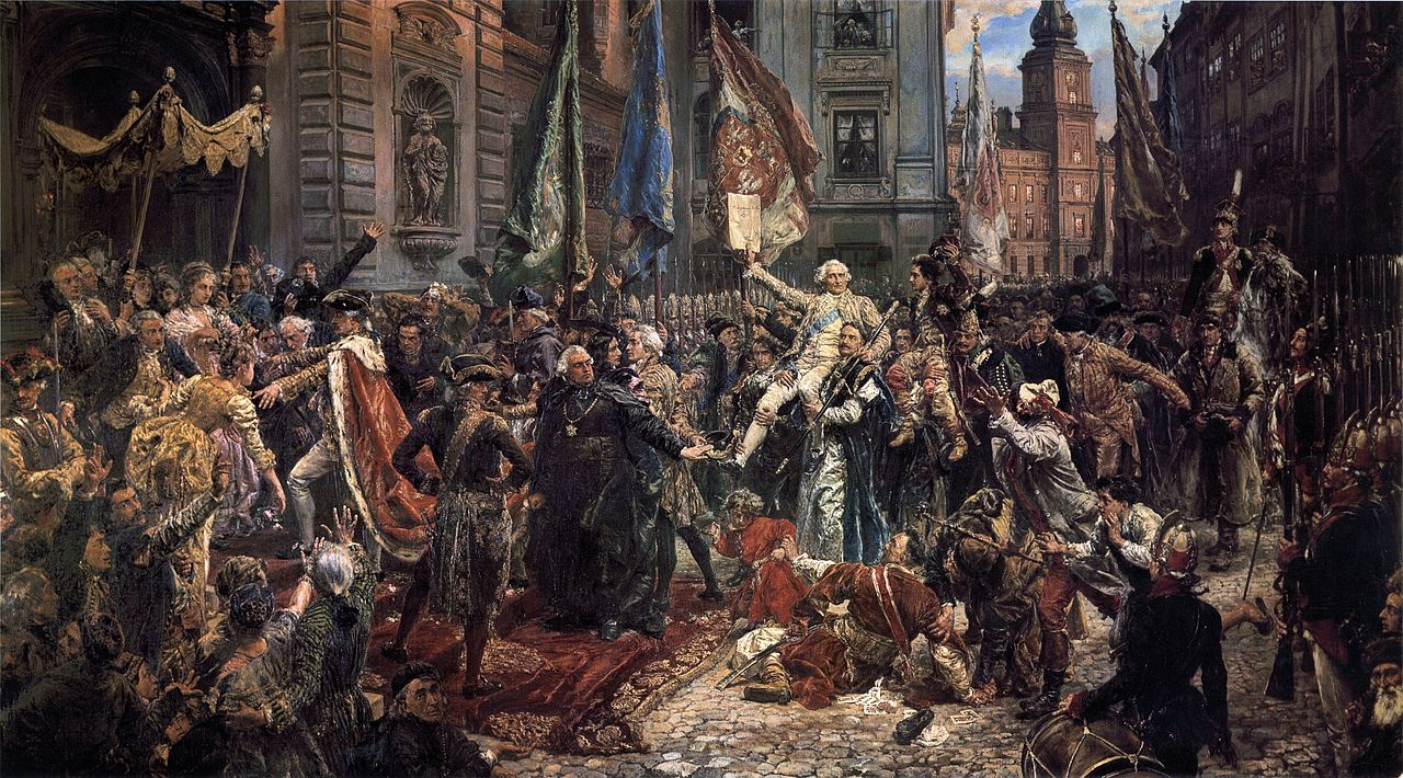 Adoption of the Polish Constitution of May 3 1791 National Museum of Poland Catalogue