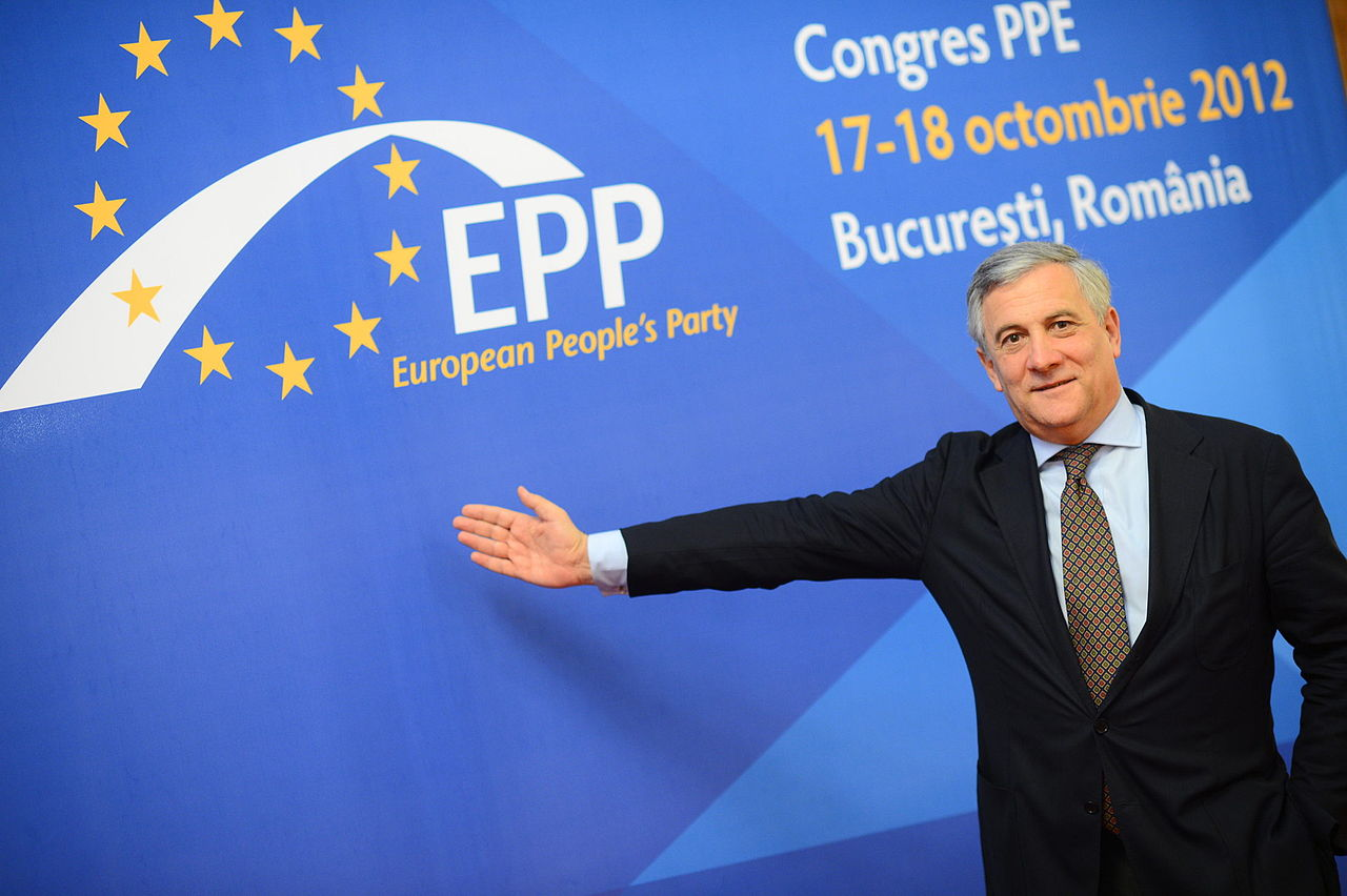 Antonio Tajani photo European Peoples Party