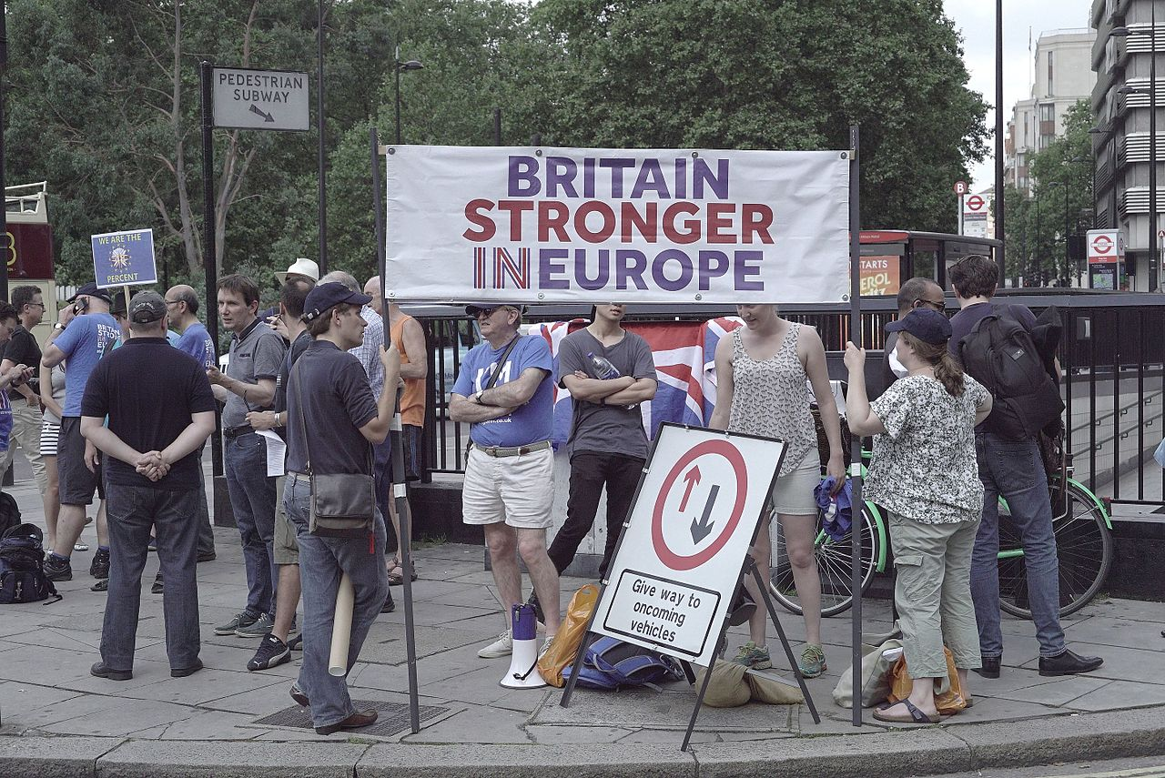Move for Europe Demonstration London photo Jwslubbock