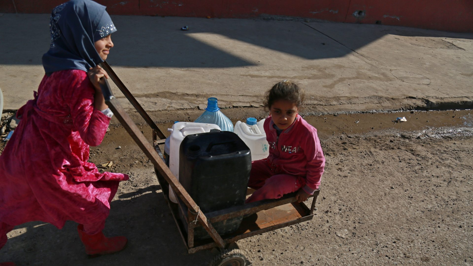 Irak East Mosul 2017 foto Michal Przedlacki