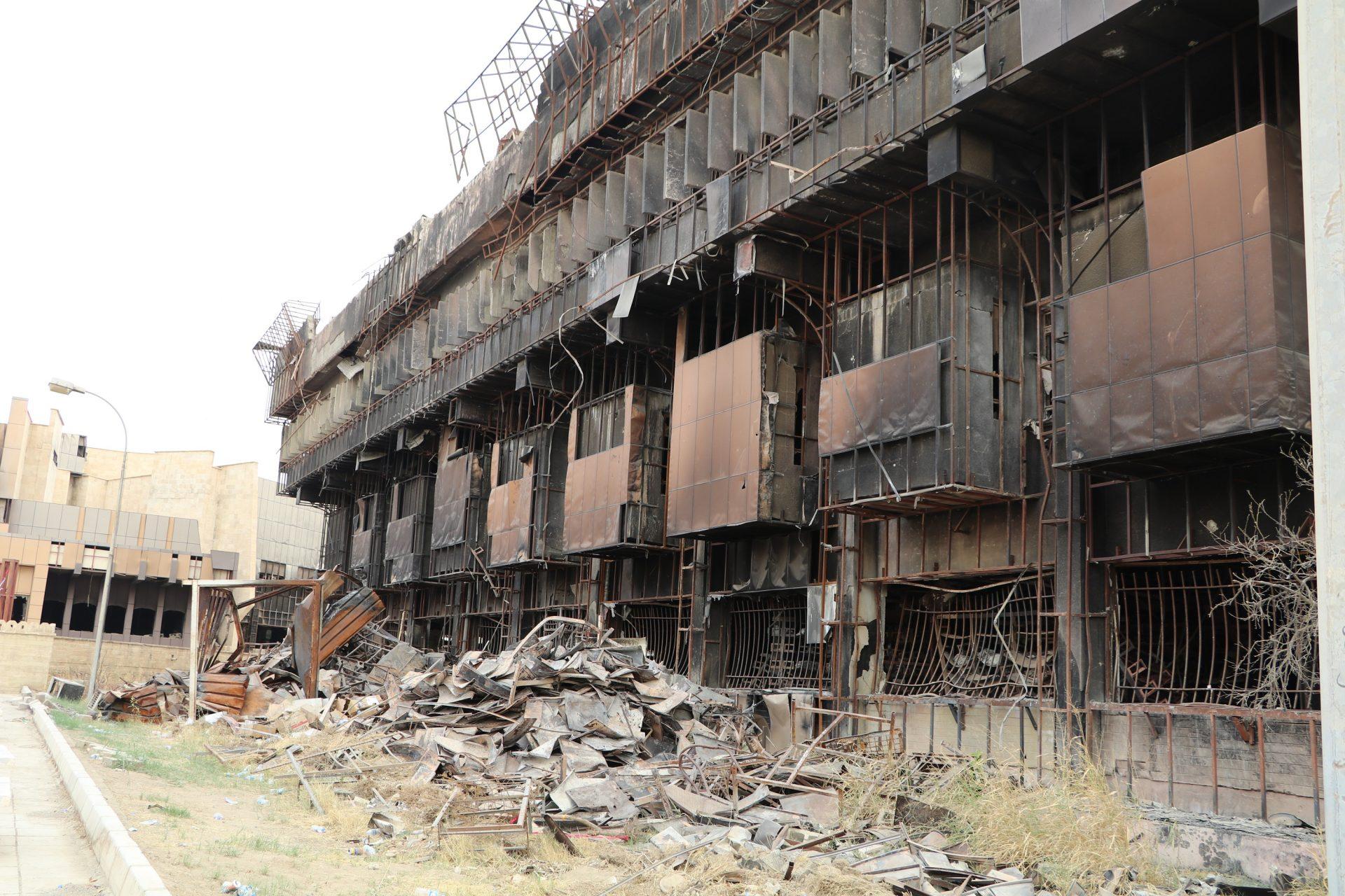Knihovna Mosul 01 foto Tatiana Gavyuk