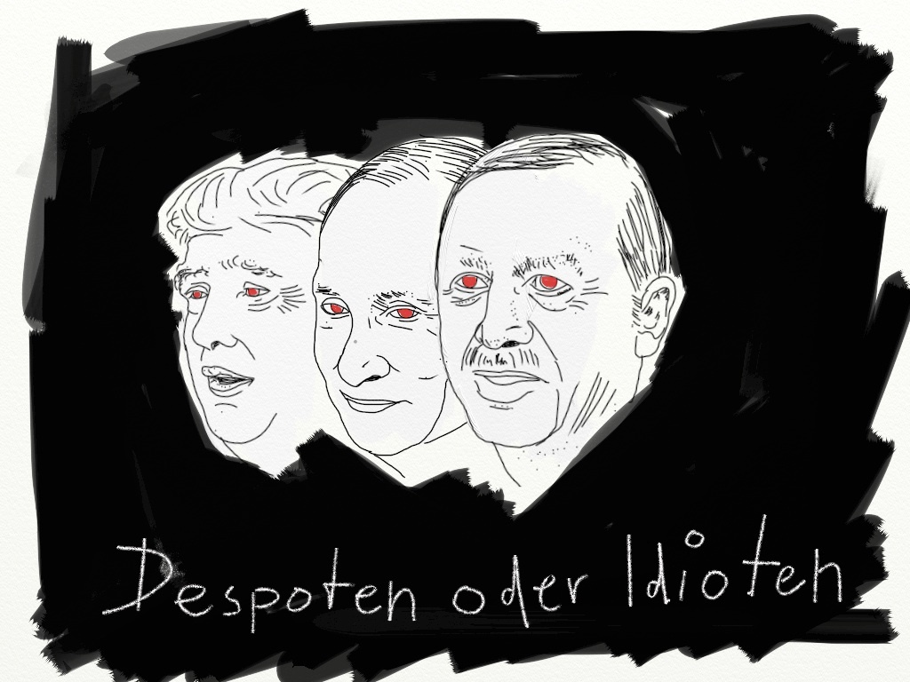 Despots or idiots, photo by Pit Pixel
