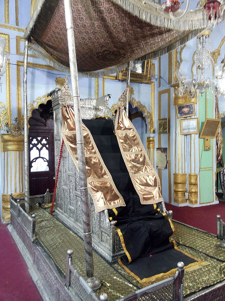 The Throne of Muhammad Ali Shah photo by Shivashishpandey35