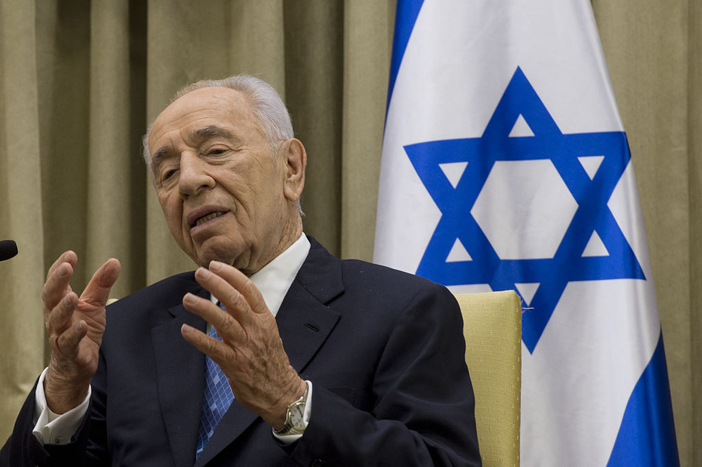 Israeli President Shimon Peres April 22 2013 photo by Erin A. Kirk Cuomo