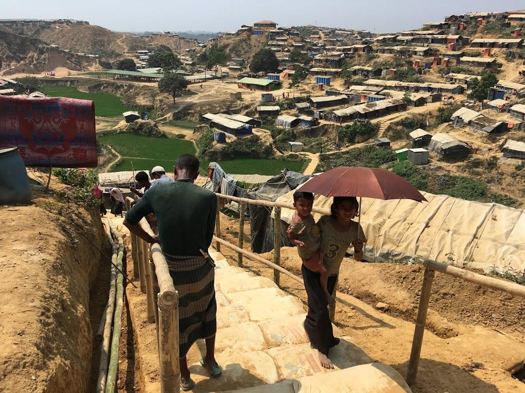 Uprchlický tábor v Bangladéši foto Marek Štys