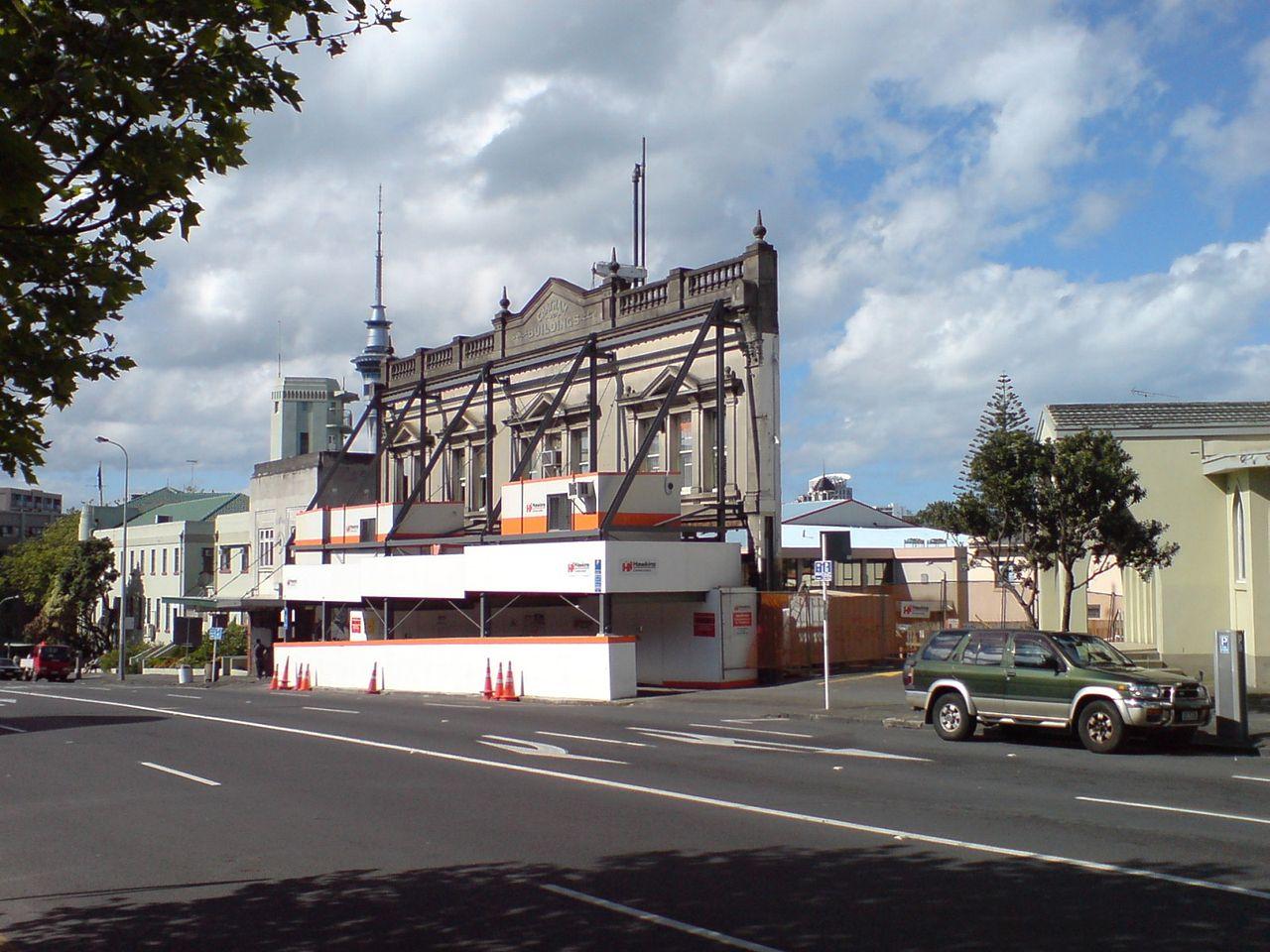 Potemkin Village Facade Auckland Ingolfson