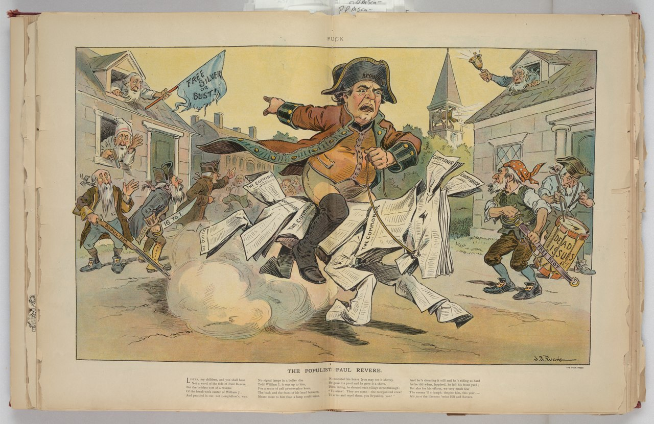 The populist Paul Revere by J. S. Pughe Library of Congress