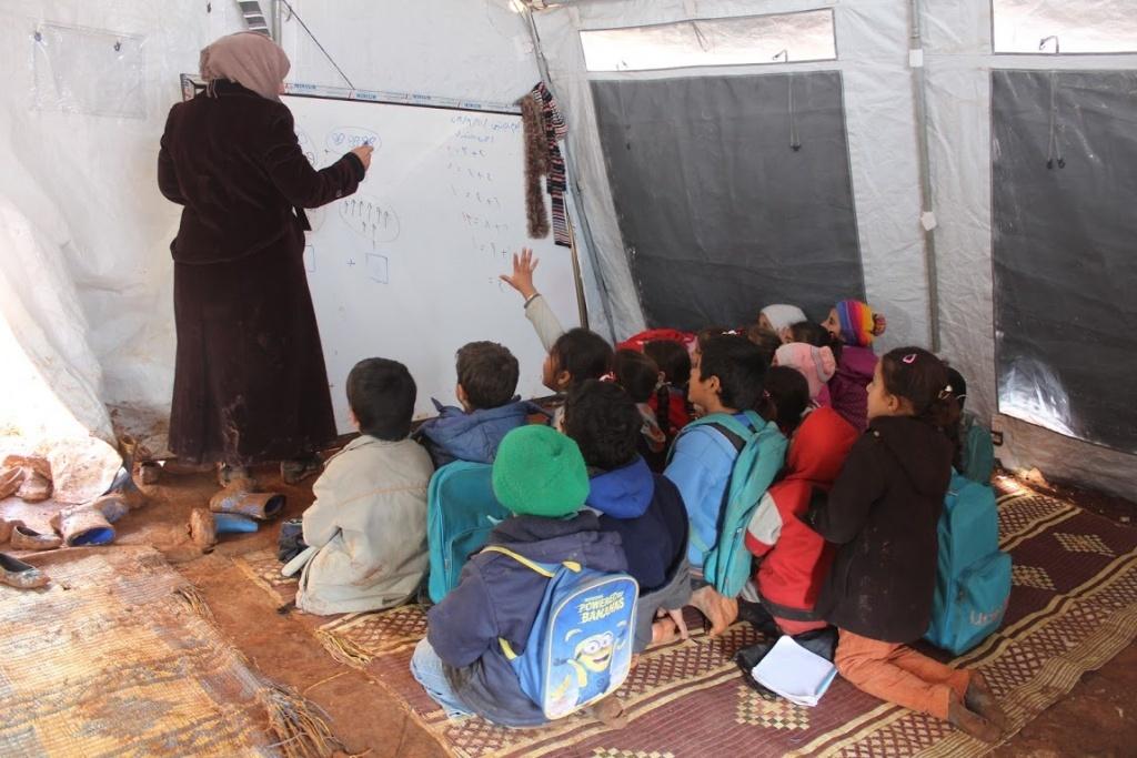 Hazano camps, Sari Haj Jneid