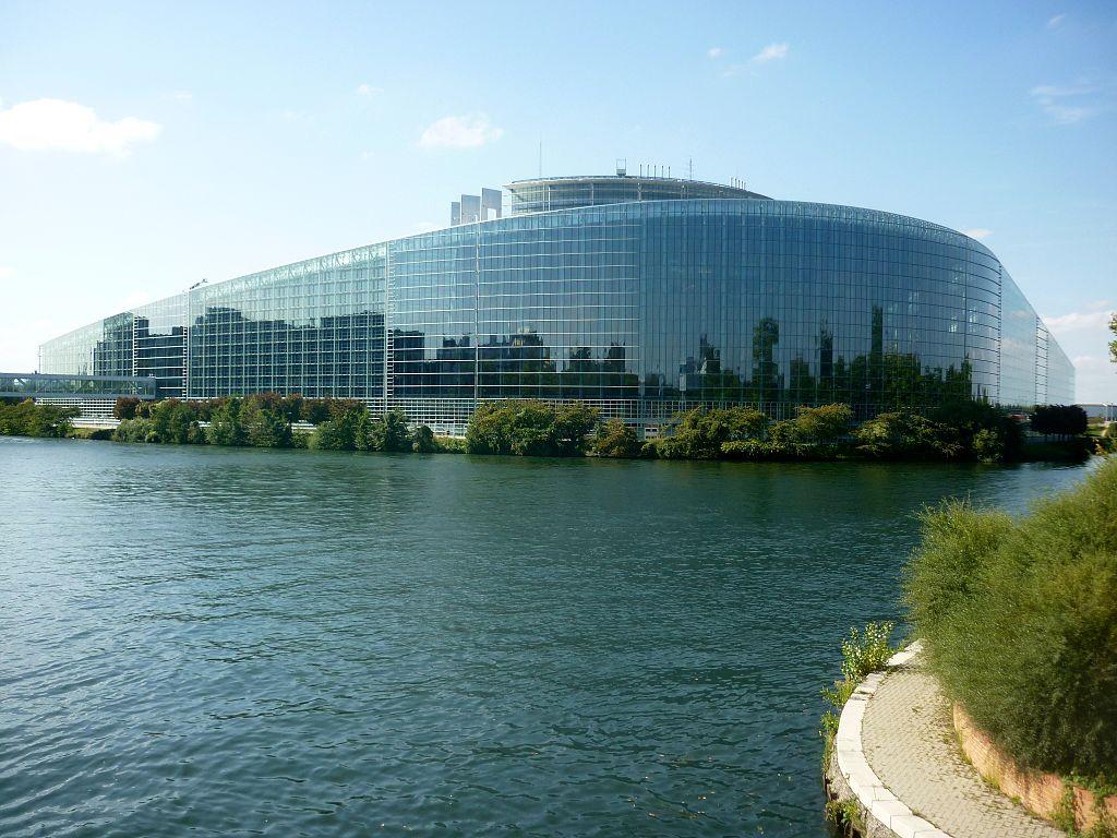 European Parliament Strasbourg by Christoph Radtke