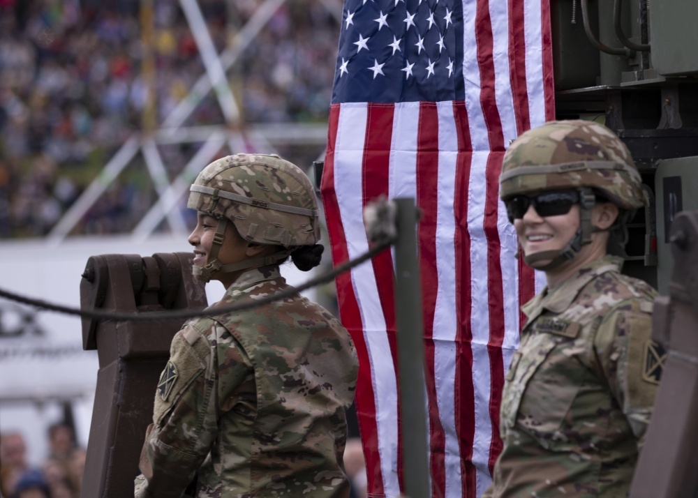 U.S. Army Soldiers participate in Polands Constitution Day Parade by Sgt. Thomas Mort 358th Public Affairs Detachment